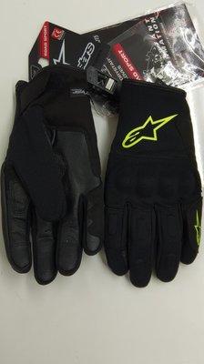 黑黃 防水防寒短手套 alpinestars smax d dry gloves A星 護具 短手套 正品 全新 s m L xL xxL