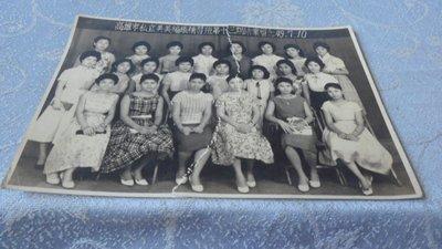 藍色小館10-2--------49年.高雄市私立美美編織補習班第十三期結業留念