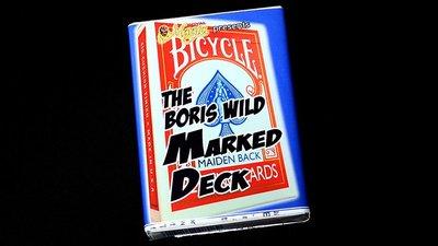 [魔術魂道具Shop]Boris Wild的記號牌~~The Boris Wild Marked Deck