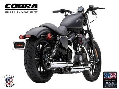 《美式工廠》美國 COBRA 眼鏡蛇 排氣管 6081 哈雷 883R XL1200L Iron 48 72