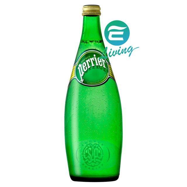 【易油網】法國Perrier 氣泡天然礦泉水 氣泡水 (750mlx12入) #10799