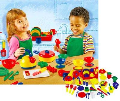 【晴晴百寶盒】美國進口 藍帶美食家 手做辦家家酒 可愛益智玩具 益智遊戲 送禮禮物禮品 創意寶寶早教益智遊戲 W405