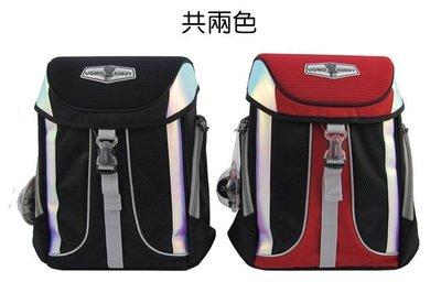 【送UNME餐袋】【免運】【UNME】 台灣製 兒童護脊書包 3238  紅 黑 兩色