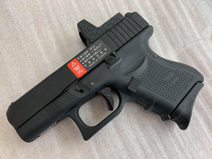 JHS((金和勝 槍店))免運費 WE 黑色 G27 Gen4 RMR版 瓦斯手槍 4821
