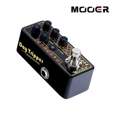 小叮噹的店- MOOER 004 Day Tripper 迷你音箱前級模擬效果器(MREG-PRE-004)