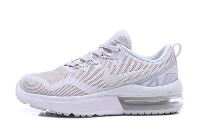 D-BOX  NIKE AIR MAX FURY 緩震 氣墊鞋 網面 透氣 跑步鞋 白色 情侶鞋