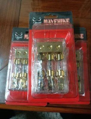 現貨🎀馬福駭客 專業級三進三出60A保險絲座,保險絲盒,純銅鍍金。電源分配座,電源分接。