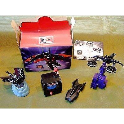 《NATE》收藏早期KFC肯德基玩具【2000- 蝙蝠俠Batman of the Future】4款一組