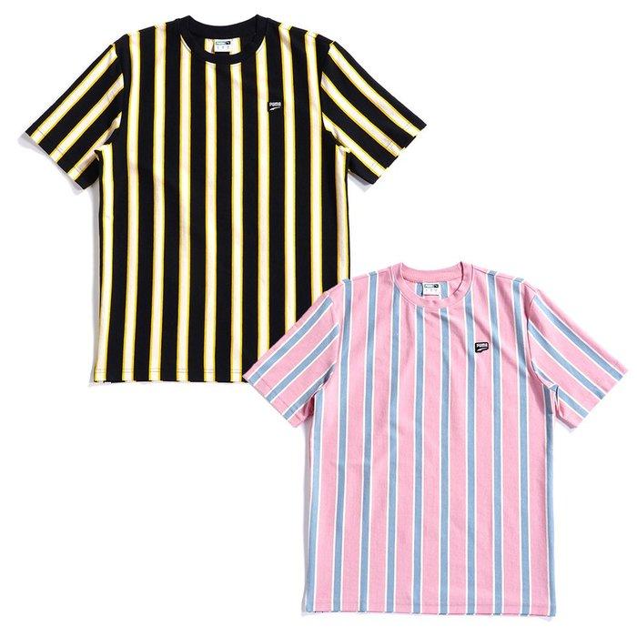 【hank40a】PUMA 男款 流行系列 Down town 條紋短袖T恤 59568701 59568714