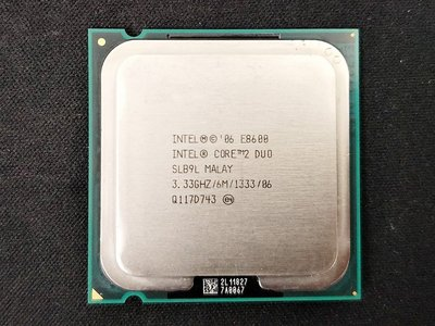 【含稅】Intel Core 2 Duo E8600 3.33G E0 775 65W  雙核 庫存正式CPU 一年保