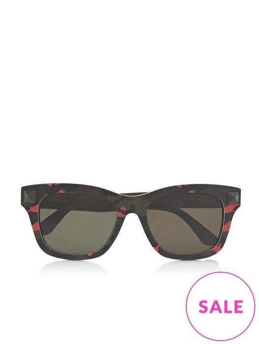 Valentino 粉紅迷彩卯丁 太陽眼鏡 ray ban