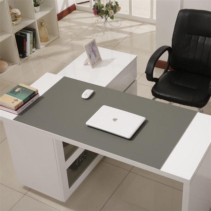 衣萊時尚-定制細磨砂紋新款多色辦公桌墊商務電腦書桌墊寫字桌墊鼠標墊臺墊(尺寸不同價格不同)