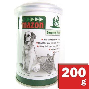 *COCO*愛美康Amazon天然海藻粉200g(小罐裝)犬貓適用海藻素營養粉/護膚亮毛/皮膚保健