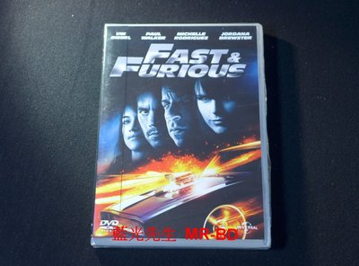 [DVD] - 玩命關頭 4 The Fast and the Furious 4 ( 傳訊正版 )