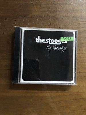 *還有唱片二館*THE STOOGES / THE WEIRDNESS 二手 A2333 (下標幫結)