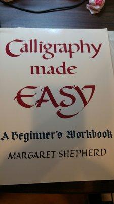 英文書法 calligraphy made easy 適 鋼筆 羅馬字體 任何墨水 學習使用
