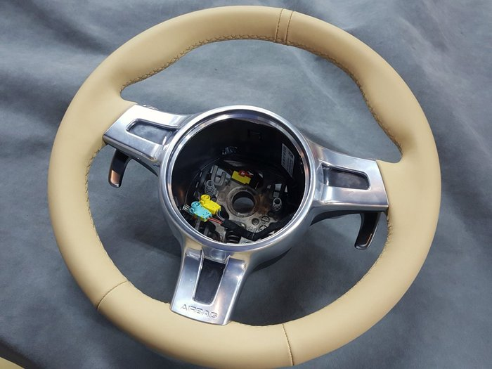 Porsche方向盤編製~Macan.987.991.GT3.CAYMAN.cayenne.panamera.981