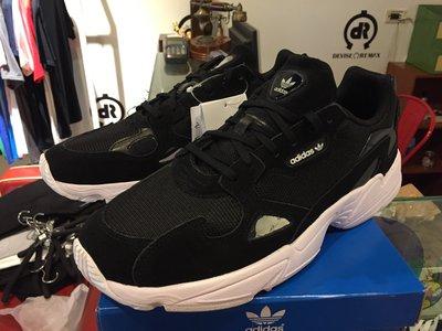 【RS只賣正品】Adidas Originals W Falcon B28129 黑白 老爹鞋 老爸鞋 復古慢跑鞋