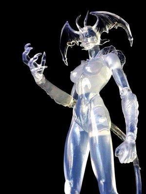 A-22 櫃 現況品 : DEVIL MAN LADY 惡魔人 惡魔女 FIRST SERIES 泛黃 富貴玩具店