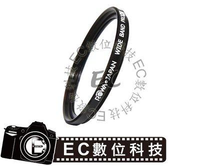 【EC數位】ROWA MCUV 多層鍍膜保護鏡 43mm UV 保護鏡 多層鍍膜 MCUV保護鏡 MC-UV鏡