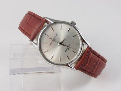 【時計小舖】㊣范倫鐵諾 Valentino~經典時尚極簡約美感不銹鋼腕錶~似亞米茄款(男/女/對錶)