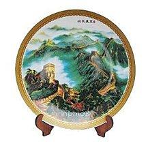 INPHIC-景德鎮陶瓷 家居裝飾 擺飾看盤掛盤山水  盤子 35cm