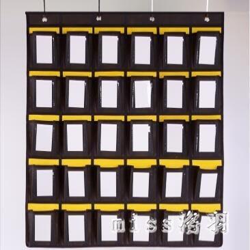 新款透明可視窗款學校教室班級手機掛袋 幼兒園卡袋 手機收納袋 js8364