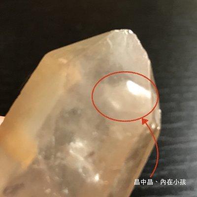 (已預訂)雙尖水晶 晶中晶 親子關係  出清 優惠 編號h-320-8
