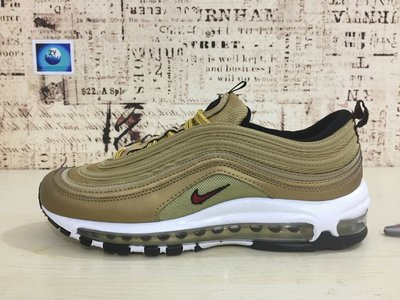 Undefeated x Nike Air Max 97 金 男女鞋 36-45