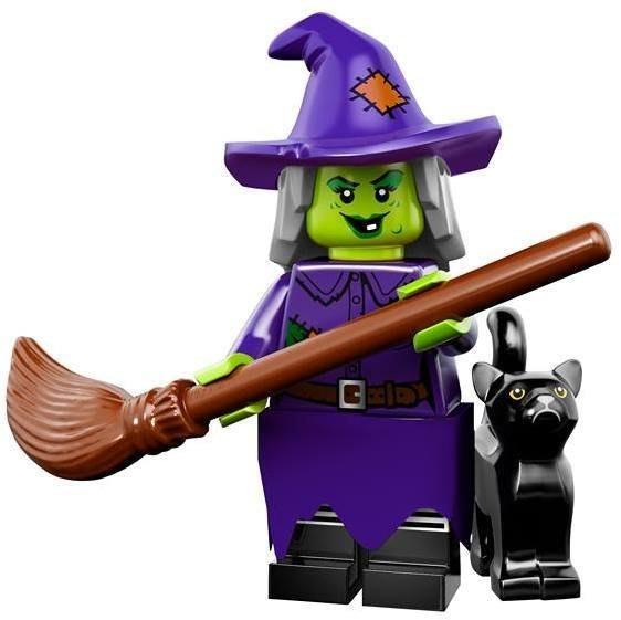 現貨【LEGO 樂高】益智玩具 積木/ Minifigures人偶系列:14代人偶包抽抽樂 71010   女巫+黑貓