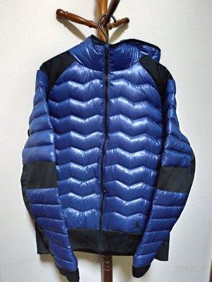 Jordan  Nike 羽絨外套 運動外套 防風外套 寶藍 XL號 807948-455