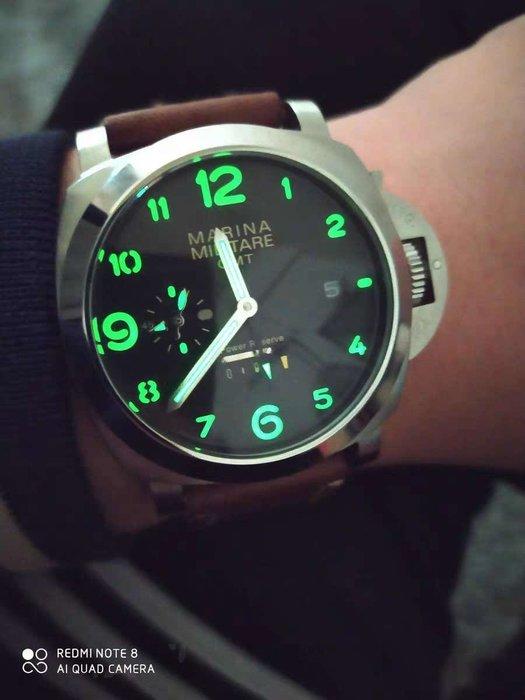 【六樓先生】Marinamilitare   44MM  自動上鍊儲能顯示機械錶
