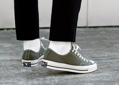 「Rush Kingdom」CONVERSE Chuck Taylor All Star 70 Low 1970 軍綠