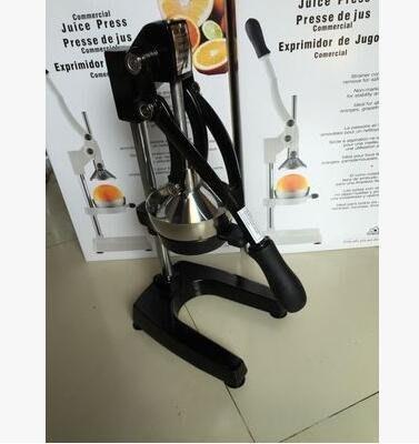 【優上】新一代手動榨汁機大號榨石榴汁機 水果汁機 不銹鋼簡易壓汁機「黑色」
