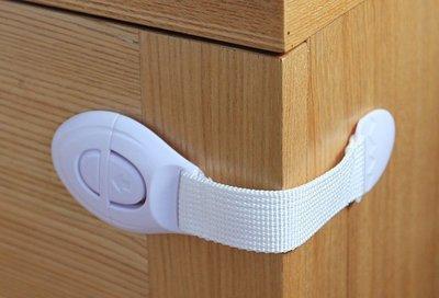 兒童『布帶』安全鎖 冰箱鎖 衣櫃鎖 簡易櫃門鎖 馬桶鎖轉角烤箱鎖 避免意外