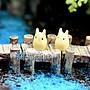 森華商城➜◊苔蘚/微景觀裝飾◊ 宮崎駿龍貓【嘰喳公仔】(單/個) 多肉植物 擺件裝飾