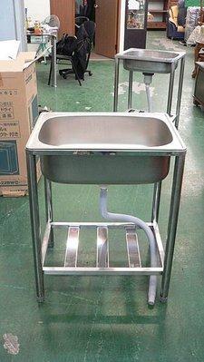 樂居二手家具 全新中古傢俱賣場 全新流理台 單口水槽(中) 洗手台/瓦斯爐台/工作台/白鐵生財工具