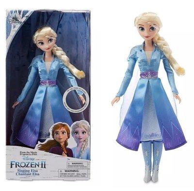 HappyHour: 現貨 *美國 迪士尼 Frozen 冰雪奇緣 2 艾莎 Elsa 唱歌 聲效 芭比 娃娃 桃園市