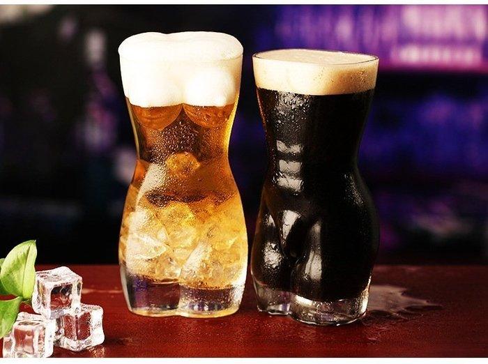 【奇滿來】大款美女果汁杯 美女杯人體杯玻璃杯立體杯 水杯 一口酒杯沙冰杯 創意造型杯 情趣夜店 酒吧 餐廳禮品 AUBB