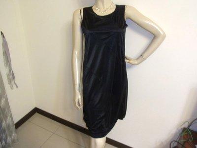 韓國【RIO DE CENT】黑色高雅紗質無袖洋裝 ~AJ衣飾2w-4-19