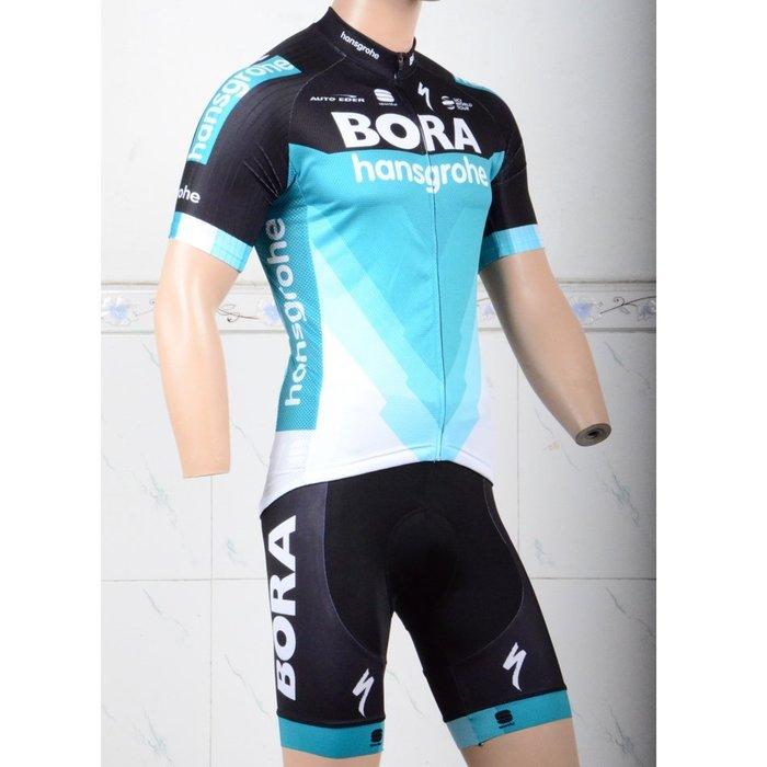 【綠色運動】18BORA自行車衣 腳踏車衣 車衣 車褲 吸濕排汗 萊卡透氣 套裝 XXS-5XL