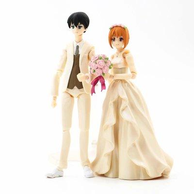 【紫色風鈴3.3】命運之夜figma 新娘婚紗047# 新郎花婿046# WF限定盒裝 港版