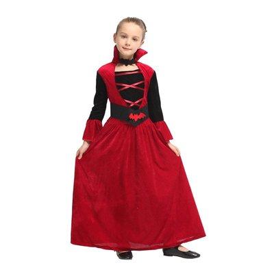 乂世界派對乂 萬聖節服裝萬聖節服裝-歌德服裝/吸血女服裝/吸血鬼服裝/吸血紅魔女