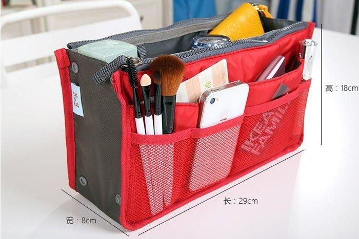 韓國加厚包中包多功能收納包 防水旅行化妝洗漱包整理袋內膽包 【創意家居】