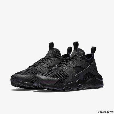 "Nike Air Huarache Run Ultra Breathe 耐克""black /  black"" 武士 833147-001 男慢跑潮流鞋款 台北市"