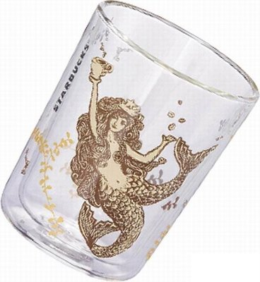 全新絕版典藏 2014年經典女神雙層玻璃杯500ml 絕版品出清