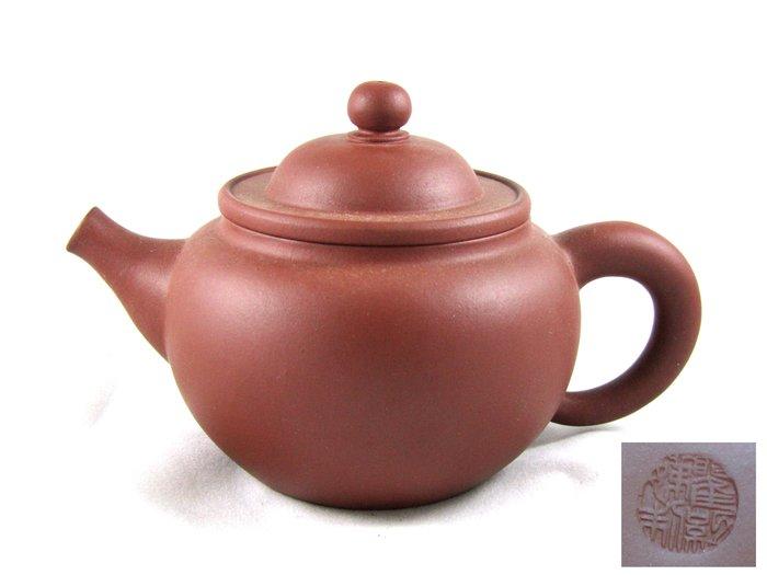 [[ 茶壺 ]] 朱泥 寬口壺(No.98) 多年前購入,喜歡就帶走