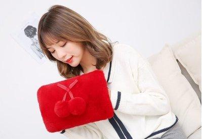 ZIHOPE 熱水袋充電暖手寶防爆電暖寶煖寶寶毛絨萌萌可愛煖宮電熱寶暖水袋ZI812