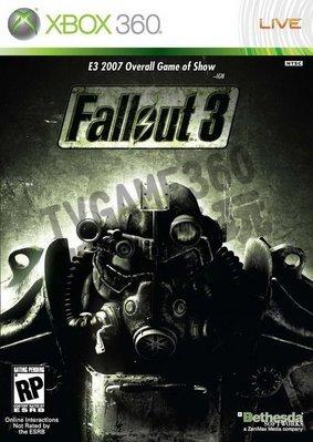【二手遊戲】XBOX36 異塵餘生3 Fallout 3 英文版【台中恐龍電玩】 台中市