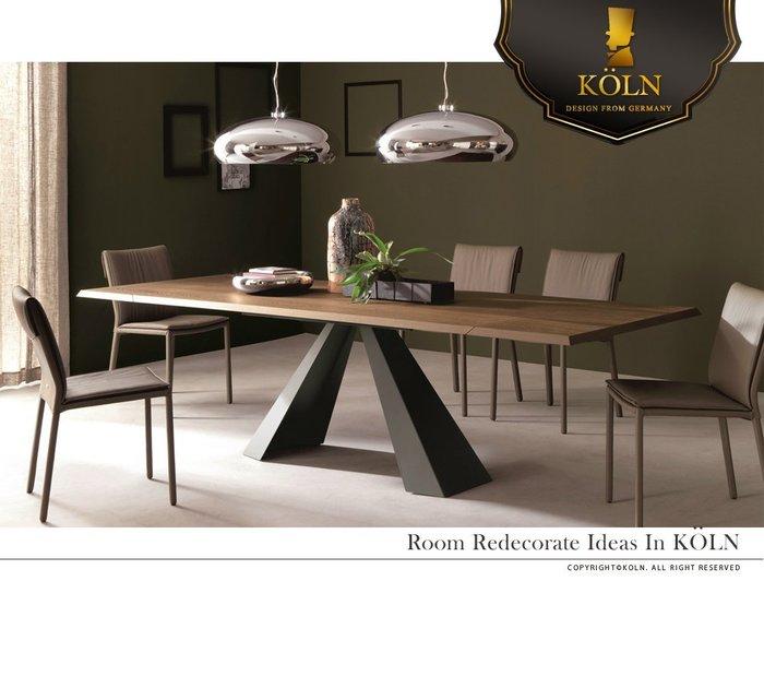 【爵品訂製家具】MF-TD-08復刻CollecTion北歐風格造型餐桌。(另有自然修邊實木款及銀弧大理石款)